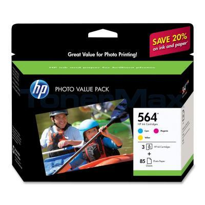 HP NO 564 INK CART CMY PHOTO VALUE PACK